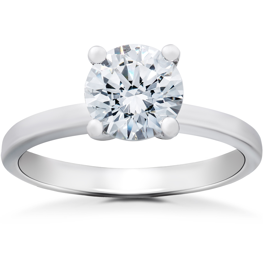 Elizabeth Solitaire Engagement Ring Setting